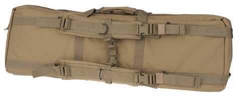 """DRAGO GEAR Tactical Double Gun Case 36"""" 600 Denier Polyester Tan 12301TN"""