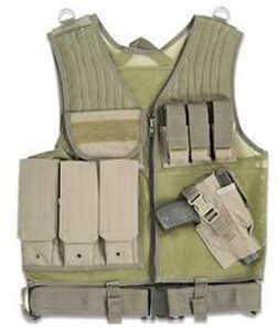 Drago Gear Fast Draw Vest Tactical Green Mesh Net 51301GR