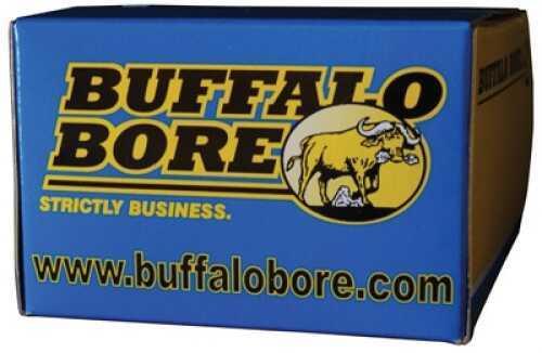 Buffalo Bore Ammunition Handgun 45 Auto Rimmed Hard Cast FN 255 GR 20 Rds Per 31A/20