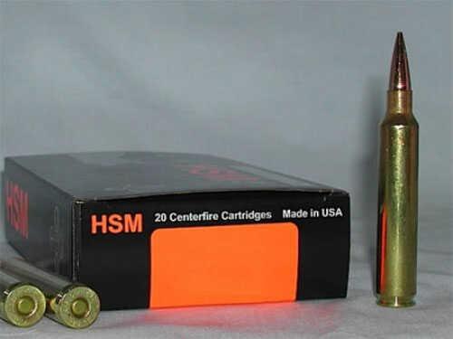 HSM / Hunting Shack Inc HSM/HUNTING SHACK INC HSM Trophy Gold 300 Winchester Magnum BTHP 168 GR 20Rds BER300WM168V