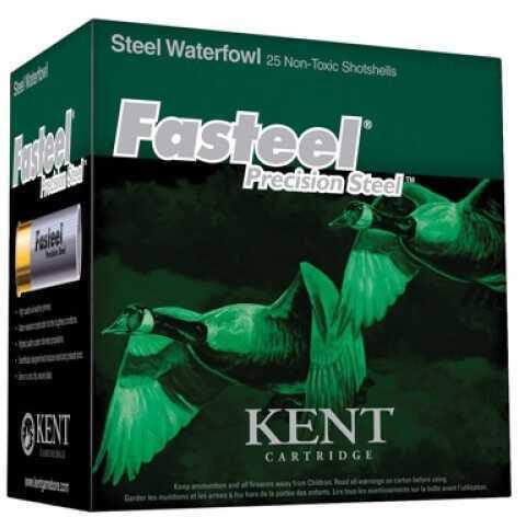 """Kent Cartridges Kent Cartridge Fasteel 2.75"""" 12 ga 2.75"""" 1.1 oz 1 Shot 25Box/10Case K122ST301"""