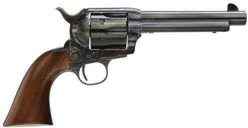 "Taylor's & Company Cattleman Gunfighter 45 Colt 5.5"" 6 Round Army Size Walnut Grip Blued Revolver 5001"