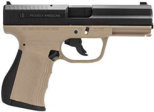 "FMK Firearms 9C1 Gen. 2 9mm Luger 4"" Barrel 10 Round Dark Earth Tan Semi Automatic Pistol G9C1G2DECAMA"