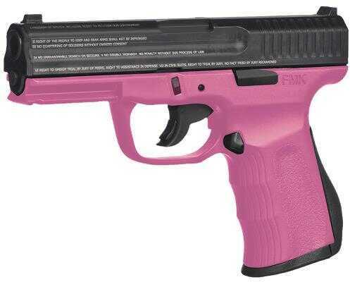 "FMK Firearms FMK 9C1 Gen. 2 9mm Luger 4"" Barrel 10 Round Pink Double Action Semi Automatic Pistol G9C1G2PKCAMA"