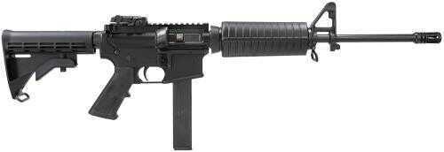"Colt AR-15 9mm Luger 16.1"" Barrel 30 Round 4-Position Telescoping Rogers Super Stock Black Semi Automatic Rifle AR6951"