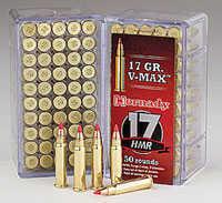 Hornady 17hmr 17gr V-max 500rd In Dry Box Ammunition 83170D