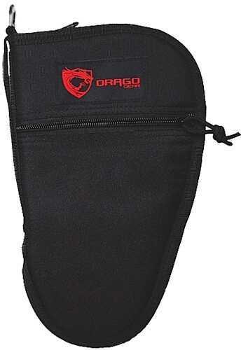 """Drago Gear Handgun Case 11.5"""" 600 Denier Polyester Black 12312BL"""
