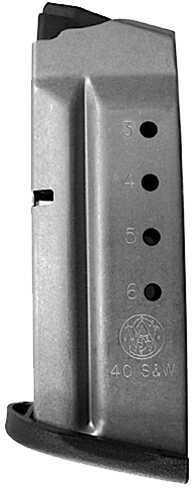 Smith & Wesson M&P Shield 40 6 rd Black Finish 19933