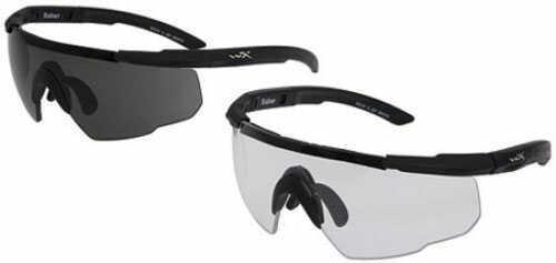 Wiley X Inc. Wileyx Eyewear SABER ADVANCED Safety Glasses Smoke/Clear 307