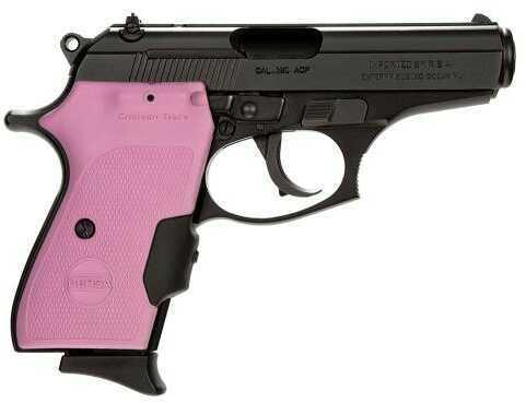 "Bersa Thunder 380 ACP 3.5"" Barrel 7 Round Crimson Trace Grip Pink / Black Semi Automatic Pistol T380MCTP"