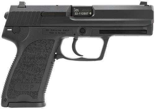 "Heckler & Koch USP40 V7 40 S&W 4.25"" Barrel 10 Round Synthetic Grips Black Finish Semi Auto Pistol 704007A5"