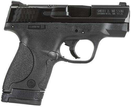 "Smith & Wesson M&P Shield 9mm Luger 3.1"" Barrel 7/8 Round Black Polymer CA Legal Semi Automatic Pistol 187021"