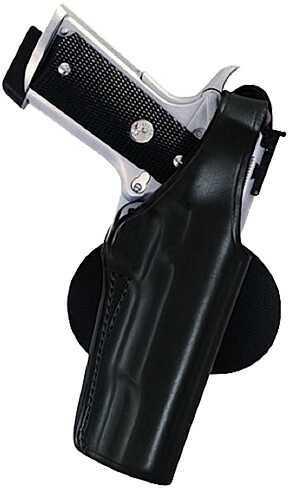 Bianchi 59 Special Agent Paddle Holster Plain Black, Size 05, Left Hand 19139