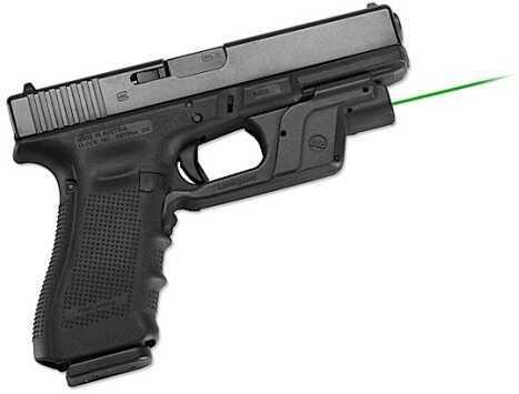 Crimson Trace Corporation Green Laserguard Laserguard Glock 17,19 Black Green Laser LG-452