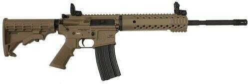 """Diamondback Firearms 223 Remington/5.56mm NATO 16"""" Barrel 30 Round 4 Rail Free Float Magpul Flat Dark Earth Finish Semi Automatic Rifle DB15Flat Dark Earth MPS"""