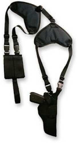 Bulldog Cases Bulldog Shoulder Harness Adjustable Black Denier Nylon WSHD20