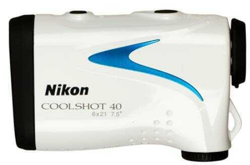 Nikon 16201 Coolshot 40 6x 21mm 8 Yds 650 Yds 7.5 Degrees