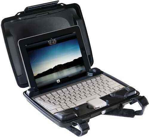 Pelican i1075 iPad Case Hard Plastic Black