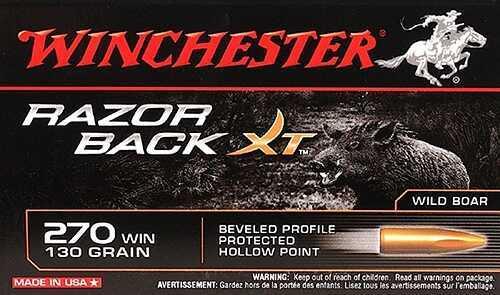 Winchester RAZORBACK XT 270 130GR 20BX S270WB