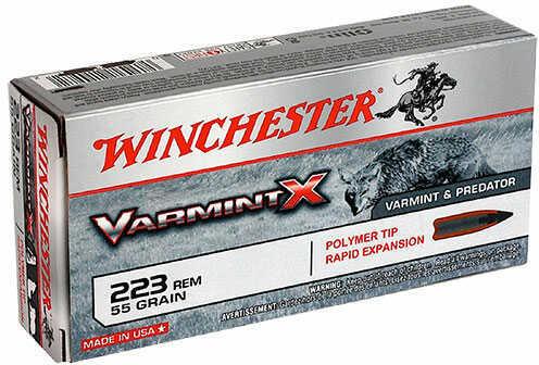Winchester VARMINT-X 223 55GR 20/BX X223P