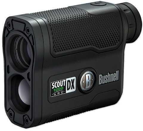 Bushnell Scout DX 1000 ARC Rangefinder 6X21 Single Button Black Finish Box 202355