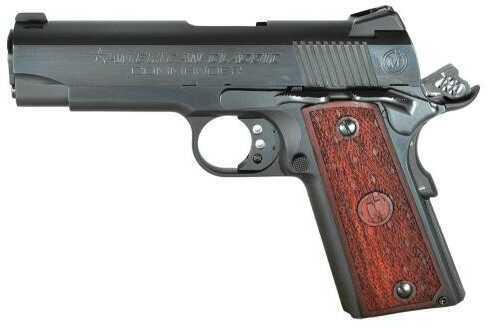 "American Classic 1911 Commander 9mm Luger 4.25"" Barrel 9 Round Mahogany Grip Blued Semi Automatic Pistol ACC9B"