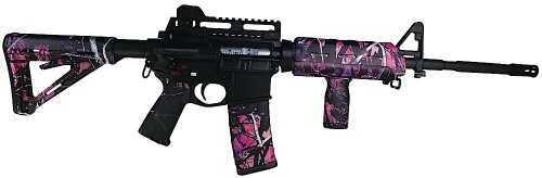 Matrix Diversified Industries AR-15 MDI Magpul MilSpec AR Accssry Kit Poly Pink Mud Grl Camo MAGMIL03MG