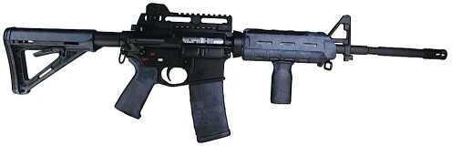 Matrix Diversified Industries AR-15 MDI Magpul MilSpec AR Accssry Kit Poly Typhon Camo MAGMIL37TY