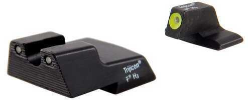 Trijicon H&K HD Night Sight Set P30 & 45C, Yellow HK110Y