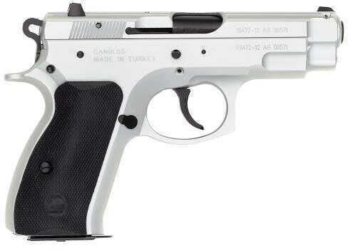 "TriStar C-100 40 S&W 3.9"" Barrel 12 Round Chrome Semi Auto Pistol 85024"