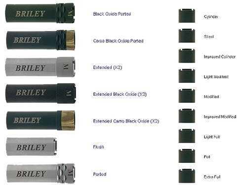 Briley Extended Full Black 12 Gauge Optima+ Choke Tube For Beretta EXTCL