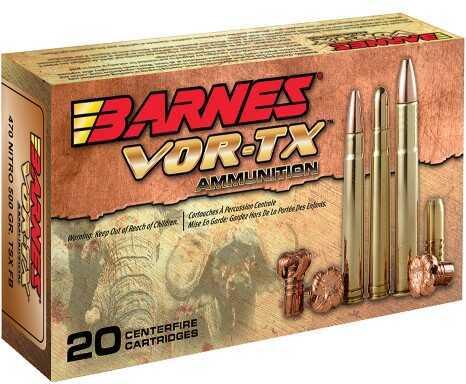 Barnes Bullets Barnes VOR-TX 22-250 50Gr Triple Shock X 20 Rounds Per Box 22008