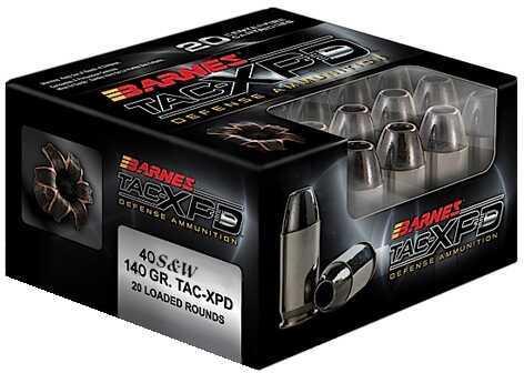 Barnes Bullets TAC-XPD 380 ACP 80 Gr. TAC-XP (Per 20) 21552