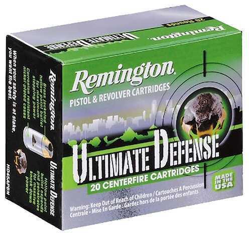 Remington Ultimate Defense 38 Special 125 GR BJHP Nickel Plated (Per 20) HD38SBN