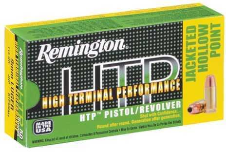 Remington High Terminal PERFOR 9MM 115Gr JHP 50 Rounds Ammunition RTP9MM1