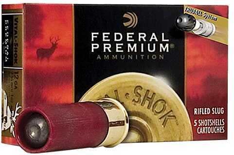 "Federal Vital-Shok Trueball Rifled Slug 12 Gauge 3"" 1 oz 5 Rounds Ammunition PB131RS"