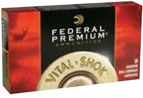 Federal Cartridge Federal Premium 338 Win Mag Vital-Shok 225Gr 20/Box