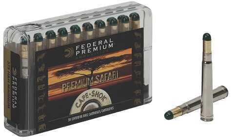Federal Cartridge Federal Cape-Shok 9.3x62mm Mauser 286 Grain Woodleigh Hydrostatically Stabilized Solid Ammunition, 2
