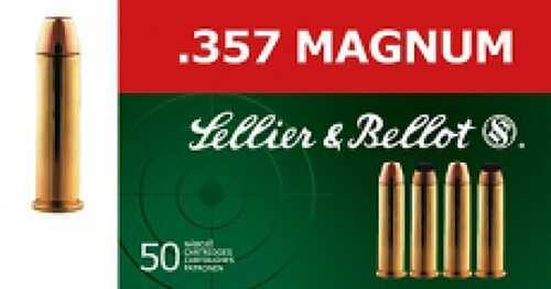 MagTech Ammunition Sellier & Bellot Ab357L Handgun 357 Magnum 158 Lead Flat Point 50Bx/20Case