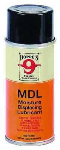 Hoppes Aerosol Moisture Displacing Lube 4 oz 10pk CASE Md: MDL MDL