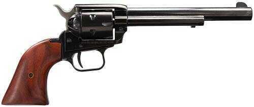 "Heritage Rough Rider 22 Long Rifle 6.5"" Barrel 6 Round Dark Wood Grip Blued Revolver RR22B6"
