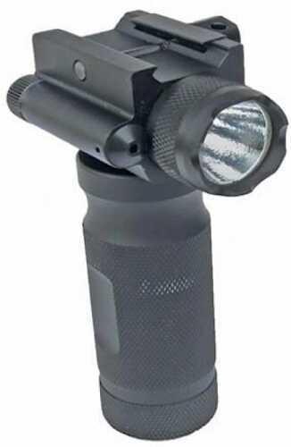 Sun Optics Tactical Forend Grip W/ 250 Lumen Light /Green Laser CVFG