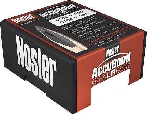 Nosler 58623 Accubond 7mm 168 Gr Spitzer 100 Per Box/Rec Hunting