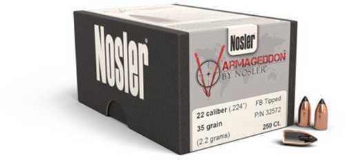 Nosler 32572 Varmageddon 224 Caliber 35 Gr 250 Per Box