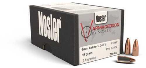 Nosler 27054 Varmageddon 6mm/243 Winchester 55 Gr 250 Per Box