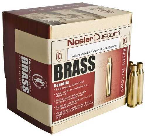 Nosler Reloading Brass Custom 7x57 Mauser Per 50 Md 44507