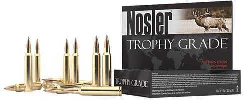 Nosler Trophy Grade Long Range 300 Win Short Mag 190gr Accubond 20 Rounds Per Box 60106