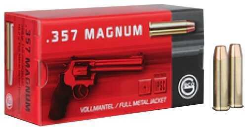 Ruag Ammotec GECO 357 Magnum 158 GR Full Metal Jacket (Per 50) 272040050 2317720