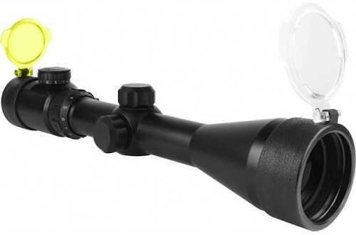 Aim Sports Inc. AIM Sports Scope Dual Illumination 3-12x 50mm Mil-Dot 30 mm JDM31250G