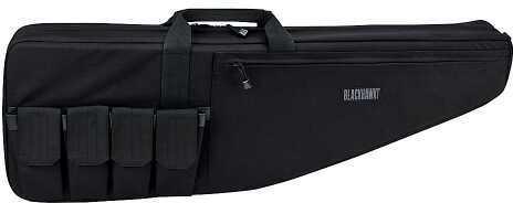 BlackHawk Products Group Blackhawk Rifle Double Divided Case 1000 Denier Nylon Black 64RC00BK